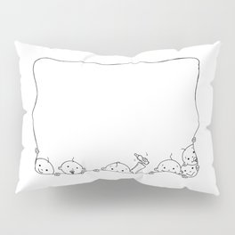 kids in the border Pillow Sham