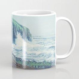 WINDSWEPT CYPRESS TREES ON THE MENDOCINO COAST CALIFORNIA Coffee Mug