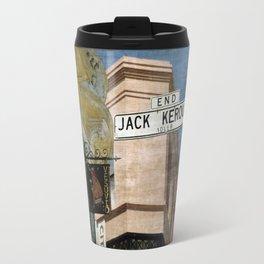 Jack Kerouac Alley and Vesuvio Pub Travel Mug