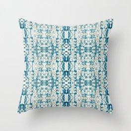 Integration: Bokeh Brocade Throw Pillow