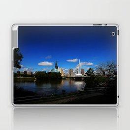 Downtown Winnipeg 3 Picture Panorama Laptop & iPad Skin