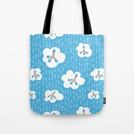 Methane Molecules And The Greenhouse Effect Tote Bag
