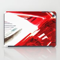 porsche iPad Cases featuring Porsche Light by Emma Dowling