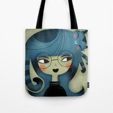 CURLY PAWS Tote Bag