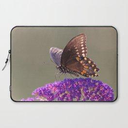 Papillon Sur Fleur Laptop Sleeve