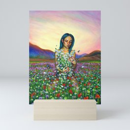 Loves me. Loves me not Mini Art Print