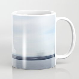 Seagull over the Mersey river Coffee Mug