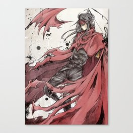 Final Fantasy VII - Bleeding Valentine Canvas Print