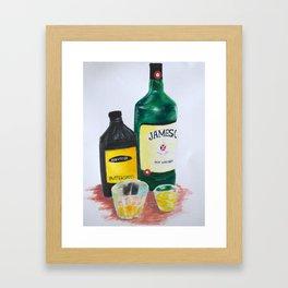 Breakfast  Shots! Framed Art Print