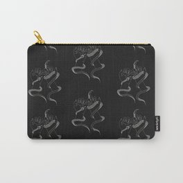 You and I - Snake Illustration Carry-All Pouch