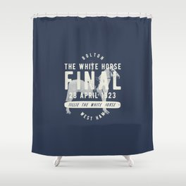 White Horse Cup Final 1923 Shower Curtain