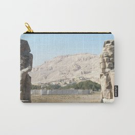 The Clossi of memnon at Luxor, Egypt, 3 Carry-All Pouch