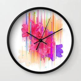 Birthday Bouquet (for Mikki) Wall Clock