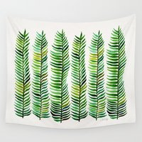 tree Wall Tapestries featuring Seaweed by Cat Coquillette