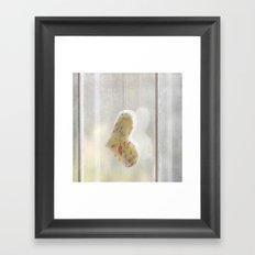 Comforting Heart Framed Art Print