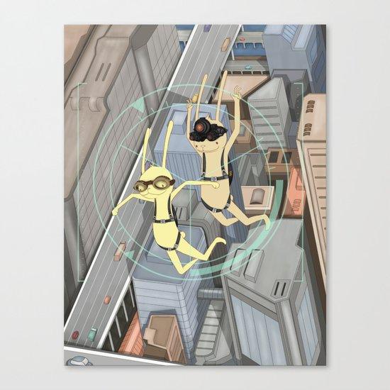 TRIZ Extended [collap w Sweet Aleksandra] Canvas Print