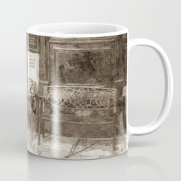 Pub Resting Place Art Vintage Coffee Mug
