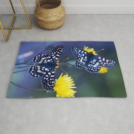 The Checkerspot Couple Rug