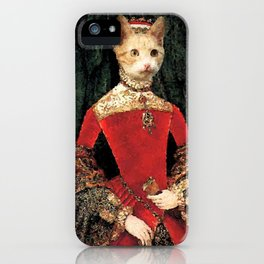 Royalty cat iPhone Case