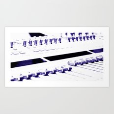 Mixing Console Art Print
