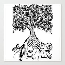 Árbol de la abundancia (Abundance tree) Canvas Print