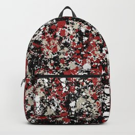 paint drop design - abstract spray paint drops 6 Backpack