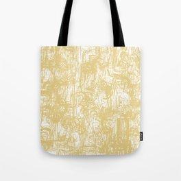 Golden paper Tote Bag