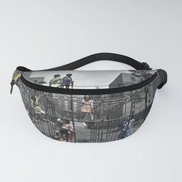 Vintage Playground Fanny Pack