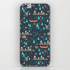 Happy Camper iPhone & iPod Skin