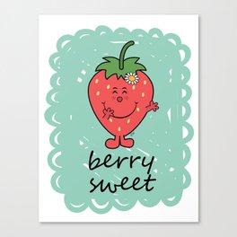 Berry Sweet Canvas Print