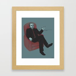 A Contract With Crowley (Supernatural) Framed Art Print
