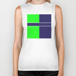 Team Colors...... 6 Lime green /navy Biker Tank