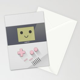 GAMETOY - White Pink         Game Boy, toy, Gameboy Stationery Cards