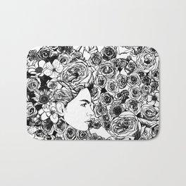 "PHOENIX AND THE FLOWER GIRL ""REFLECTION"" SINGLE PRINT Bath Mat"