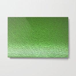 Green Crash I Metal Print