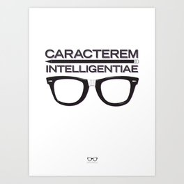 The Mark of Intelligence Art Print