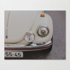 Cream White Summer Canvas Print
