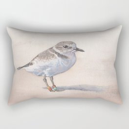 Monterey Bay Snowy Plover Rectangular Pillow