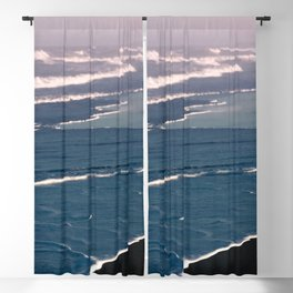 Tropical Beach Sunset - Nature Photography Blackout Curtain
