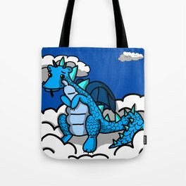 Blue Baby in the Sky   Veronica Nagorny  Tote Bag
