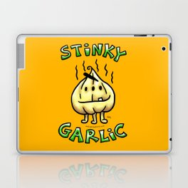 Stinky Garlic! Laptop & iPad Skin