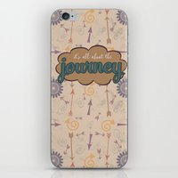 journey iPhone & iPod Skins featuring Journey by Skuishy