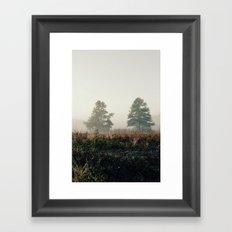 fog.  Framed Art Print