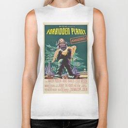 Vintage poster - Forbidden Planet Biker Tank