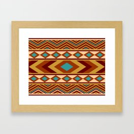 Southwestern Navajo Framed Art Print