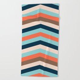 Kings River Sunset Beach Towel