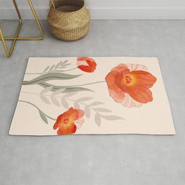 Summer Flowers II Rug