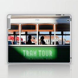 Lisbon Portugal tramway Laptop & iPad Skin