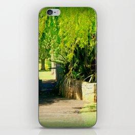A Walk in the Park iPhone Skin