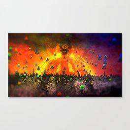 God Gamble Big Guru Canvas Print